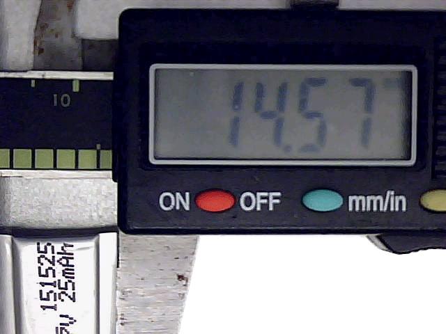 25mAh 1.5mm